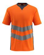 50127-933-14010 T-shirt - Hi-vis orange/Marine foncé