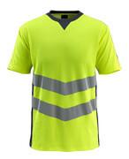 50127-933-17010 T-shirt - hi-vis geel/donkermarine