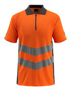 50130-933-1418 Poloshirt - hi-vis oranje/donkerantraciet