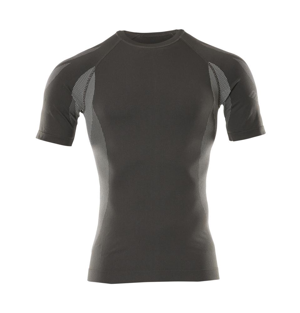 50185-870-18 Functioneel hemd, met korte mouwen - donkerantraciet