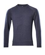 50204-830-66 Sweatshirt - gewassen donkerblauw denim
