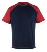 50301-250-12 T-shirt - marine/rood