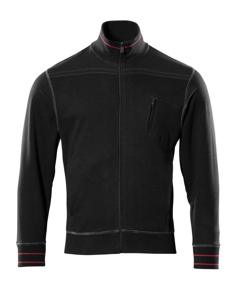 50353-834-09 Sweatshirt zippé - Noir