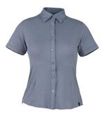 50374-863-180 Overhemd, met korte mouwen - blauwgrijs
