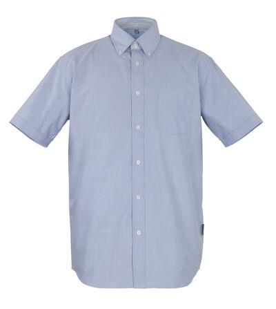 50377-887-B13 Overhemd, met korte mouwen - oxford blauw