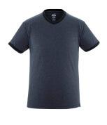 50415-250-66 T-shirt - gewassen donkerblauw denim