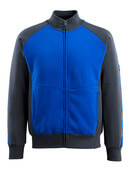 50565-963-11010 Sweatshirt met rits - korenblauw/donkermarine