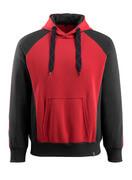 50572-963-0209 Capuchontrui - rood/zwart