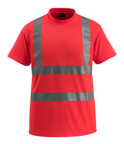 50592-976-222 T-shirt - Hi-vis rouge