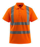 50593-972-14 Polo - Hi-vis orange