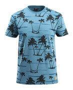 50596-983-85 T-shirt - ijsblauw