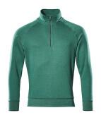 50611-971-010 Sweatshirt met korte rits - donkermarine