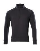 50611-971-09 Sweatshirt demi-zippé - Noir
