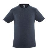 51579-965-66 T-shirt - gewassen donkerblauw denim