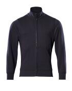 51591-970-010 Sweatshirt met rits - donkermarine