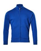 51591-970-11 Sweatshirt met rits - korenblauw