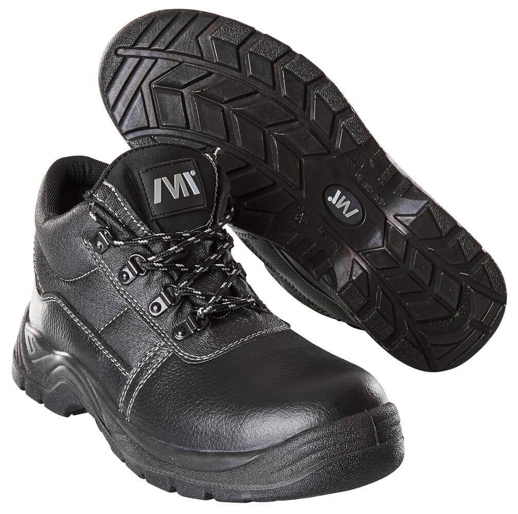 F0004-910-09 Veiligheidsschoenen (hoog) - zwart