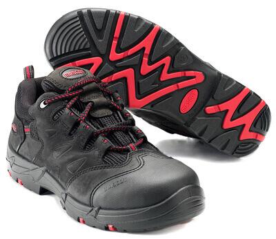 F0014-901-0902 Chaussure de sécurité - Noir/Rouge