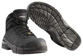 F0114-937-09 Veiligheidsschoenen (hoog) - zwart