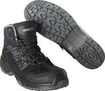 F0129-947-09 Veiligheidsschoenen, hoog - zwart