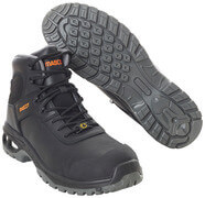 F0135-902-09 Veiligheidsschoenen (hoog) - zwart