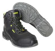 F0144-902-09 Chaussures de sécurité hautes - Noir
