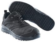 F0250-909-0909 Chaussures de sécurité basses - Noir/Noir