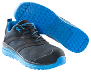 F0250-909-0911 Veiligheidsschoenen (laag) - zwart/korenblauw