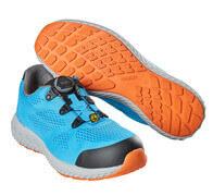 F0300-909-87 Chaussure de sécurité - Bleu turquoise
