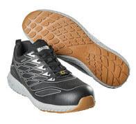 F0301-909-37880 Chaussures de sécurité basses - Vert lime/argent
